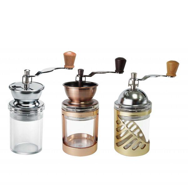 Holar Acrylic Coffee Grinder with Handle