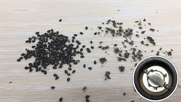 Holar - Blog - 13 Common Spices You Can (Cannot) Grind in Your Salt and Pepper Grinder - Sesame
