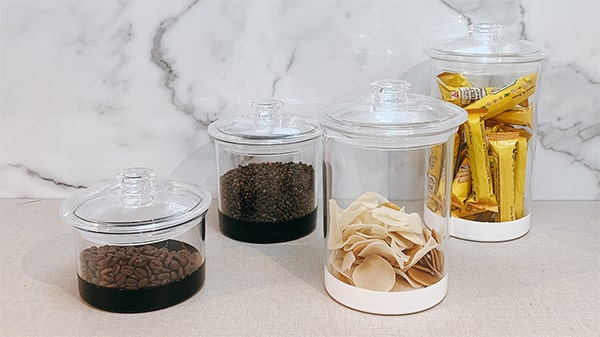 Holar - Blog - 9 Good Kitchen Habits for Better Cooking - well organized with canister