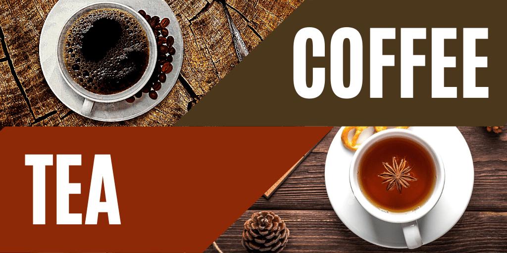 Holar - Blog - Coffee vs. Tea 7 Factors to Consider Before Drinking