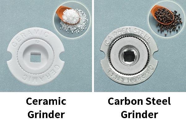 Holar - Blog - Pepper Mill vs Salt Mill What's the Difference - Holar ceramic grinder carbon steel grinder