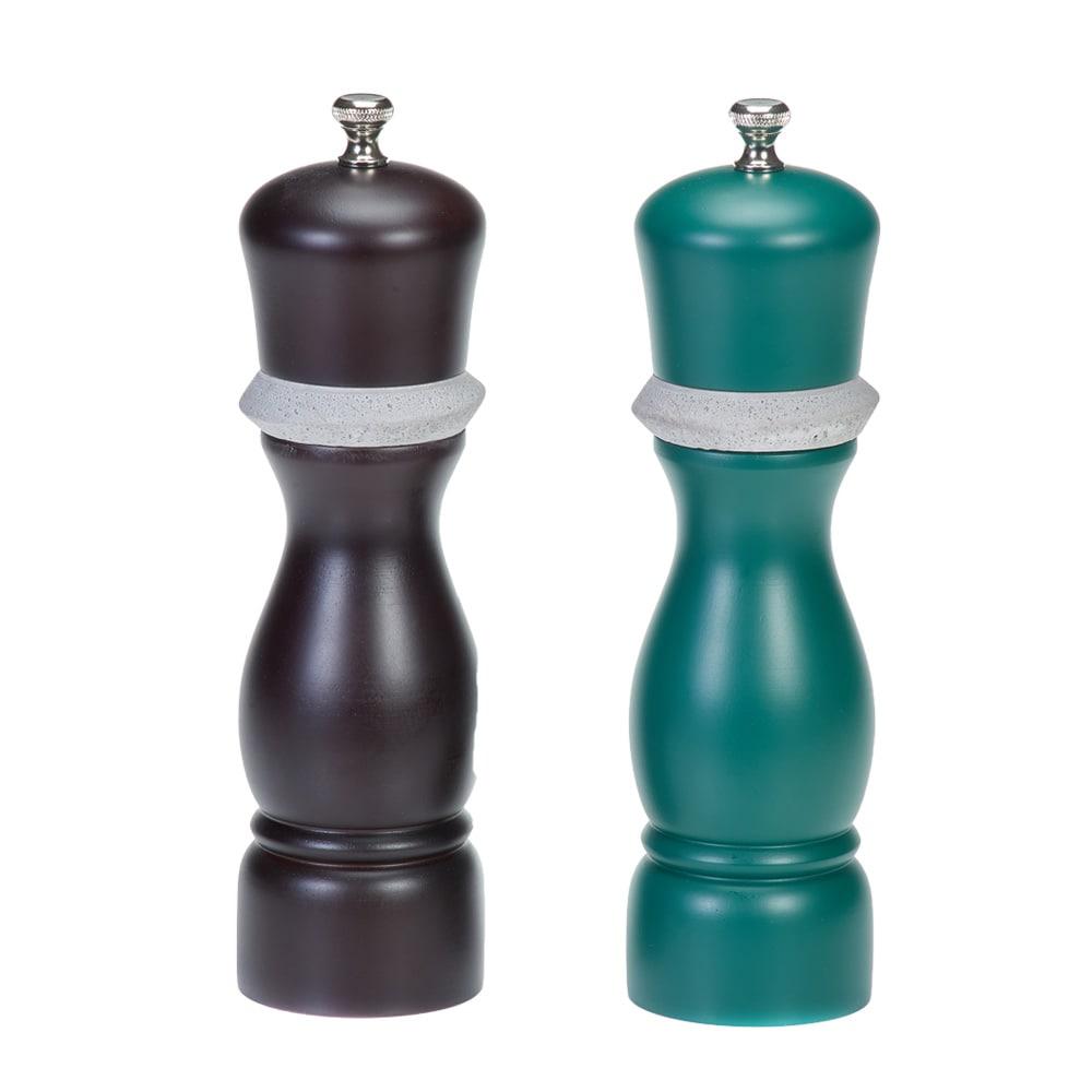 Holar-CE79 wood and concrete salt and pepper grinder