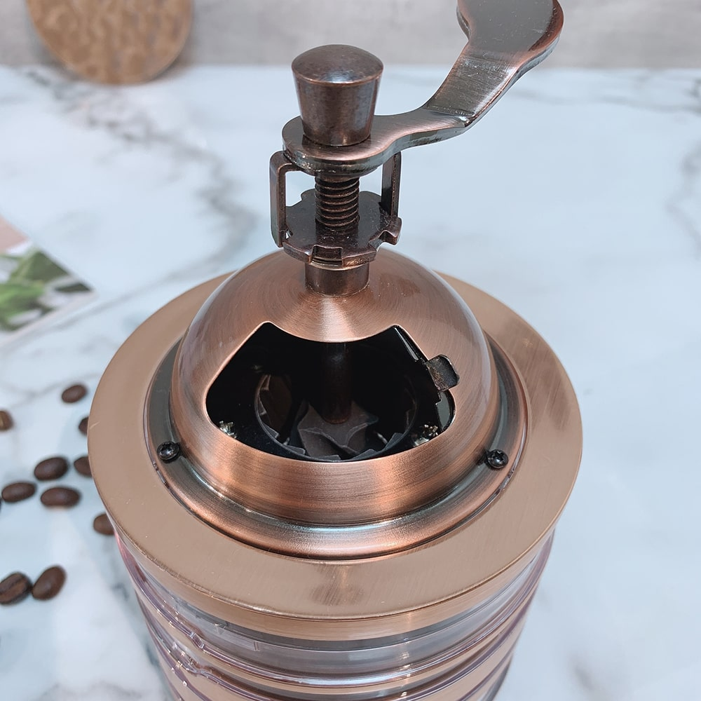 Holar CM-HK3RG-1 rose gold coffee grinder-6