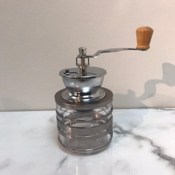 Holar CM-HK3SL-B coffee grinder with lid