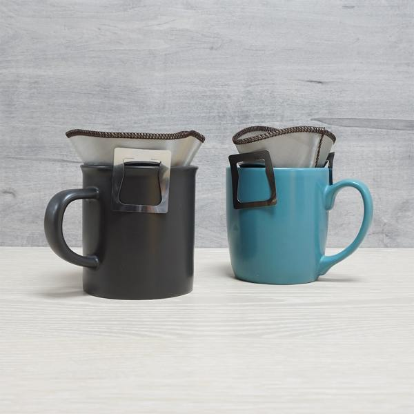Holar - Coffee - Coffee Filter - PS-DC06 Reusable Foldable Stainless Steel Coffee Sector Dripper with Hanging Ear- 4_1