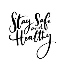 Holar - Coronavirus - Stay Safe and Healthy Announcement