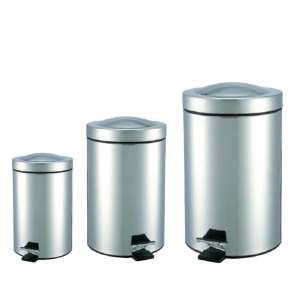 2019 New Sliver Durable Dustbin