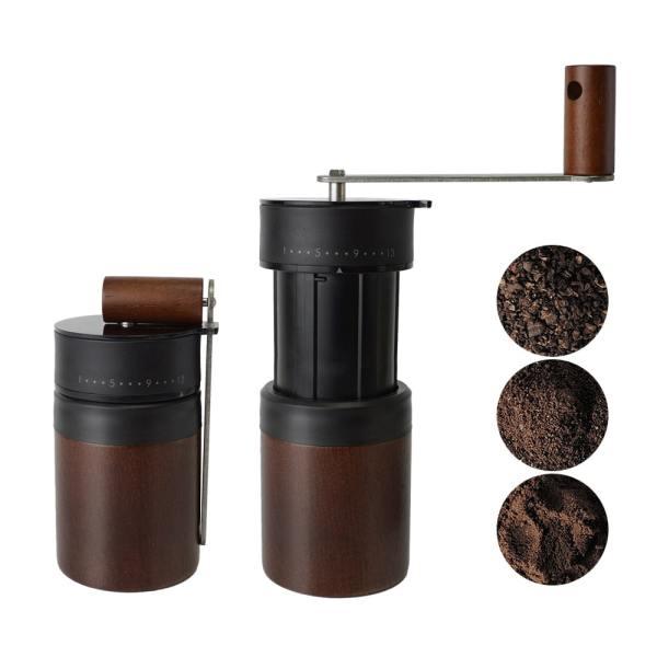 Holar portable expandable hand crank coffee grinder_PS-CM02WDBK