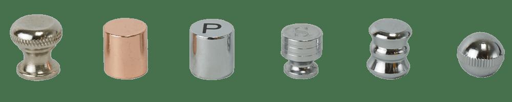 adjustable knob and custom nut of Holar salt and pepper grinder