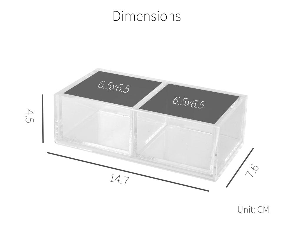 dimension-Holar AZ-22 acrylic organizer