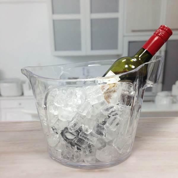 ice bucket with holder-7