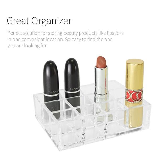makeup acrylic holder Holar AZ-1819 lipstick storage series