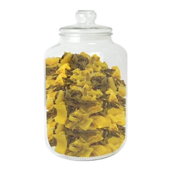 pickle glass storage jar-GCA-10L