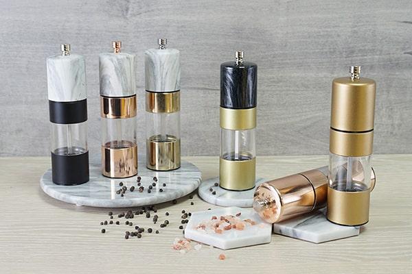 stainless steel salt and pepper grinder-Holar Blog-Sourcing Salt and Pepper Grinders