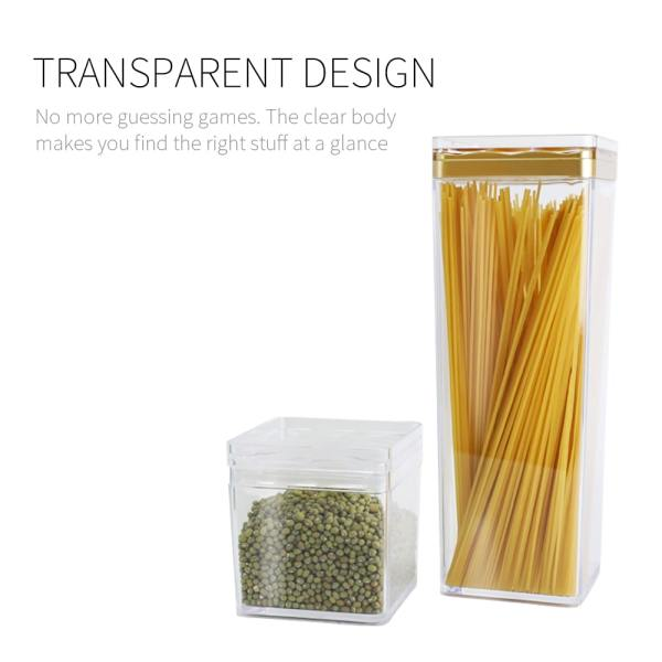 transparent body- Holar CASQ-01 storage jars