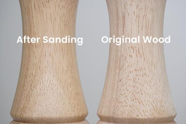 wood pores comparison-Holar Blog-Sourcing Salt and Pepper Grinders