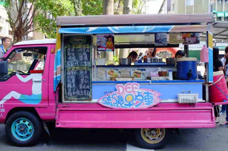 La camioneta de desayunos de Def