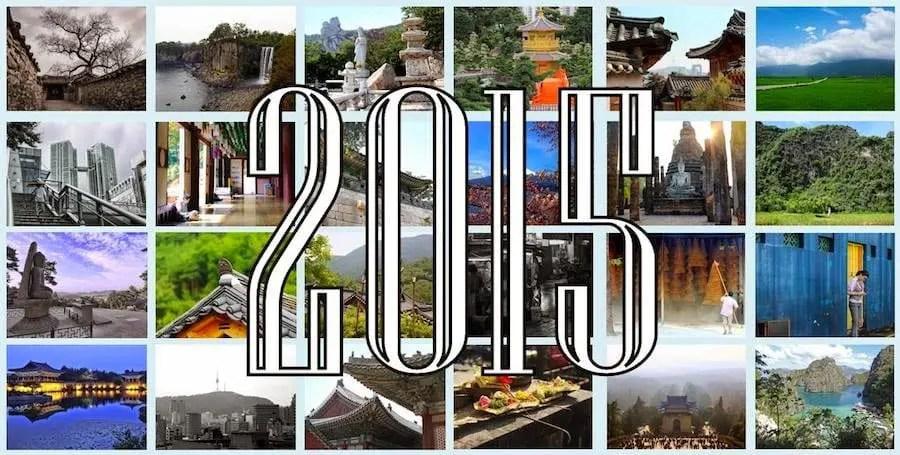 Calendario asiático 2015