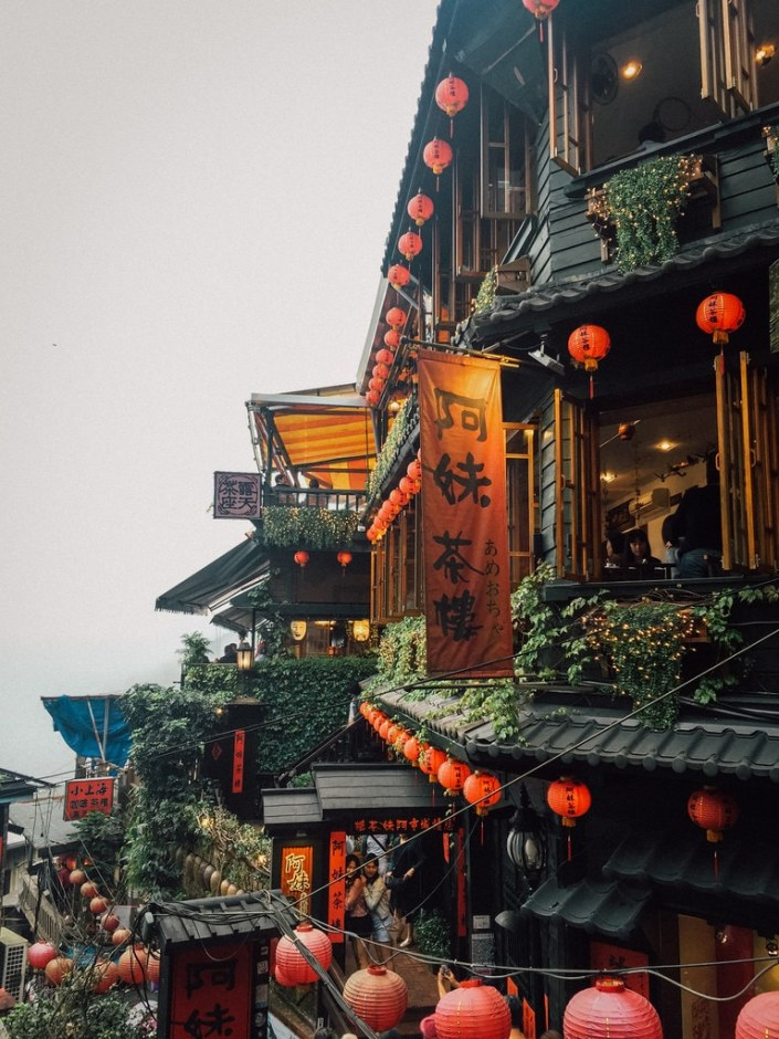Jiufen, the village of Spirited Away