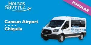 Cancun Airport - Chiquila