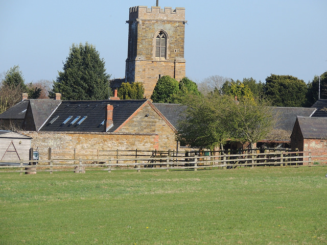 Across the Church in Holcot