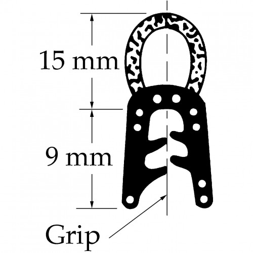 Top Tube Seal for vintage and classic cars