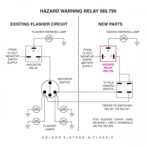 Mgb Starter Wiring Diagram 12 Volt Hazard Flasher Relay