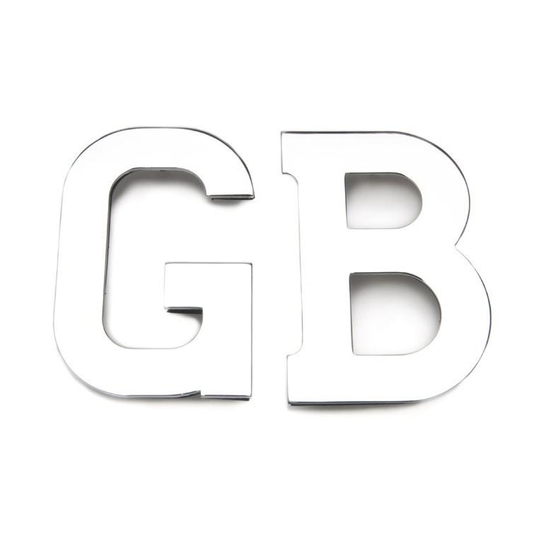 GB Letters Stud Fixing