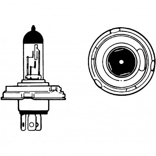 12v Halogen Bulb for UEC Headlamps 60/65w LLB012