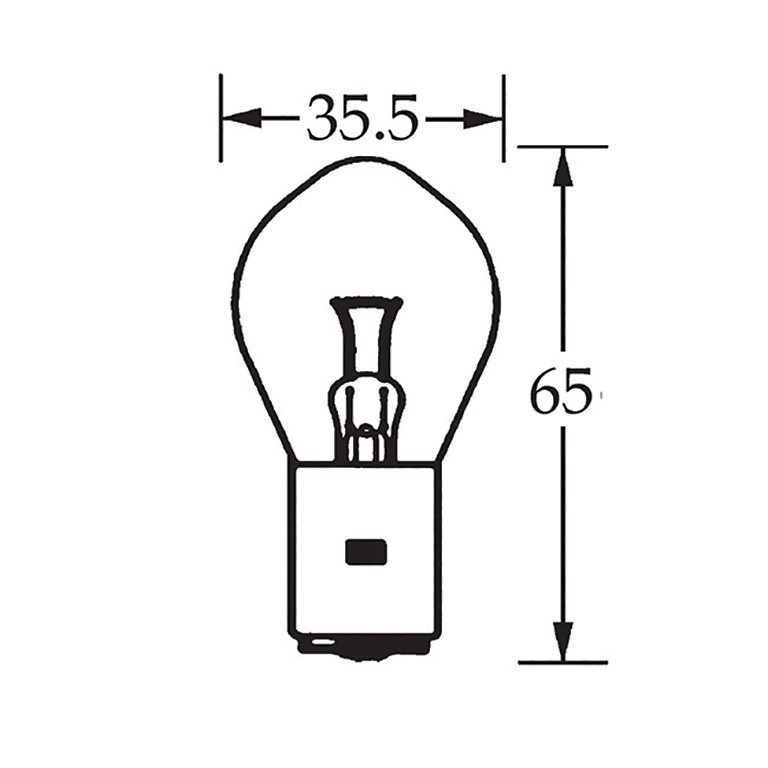 6v Bulb Single Contact Bosch 36w LLB130