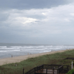 Tropical Storm Arthur at Holden Beach