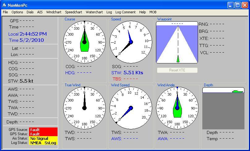 NMEA 0183 Speedometer – www holdentechnology com