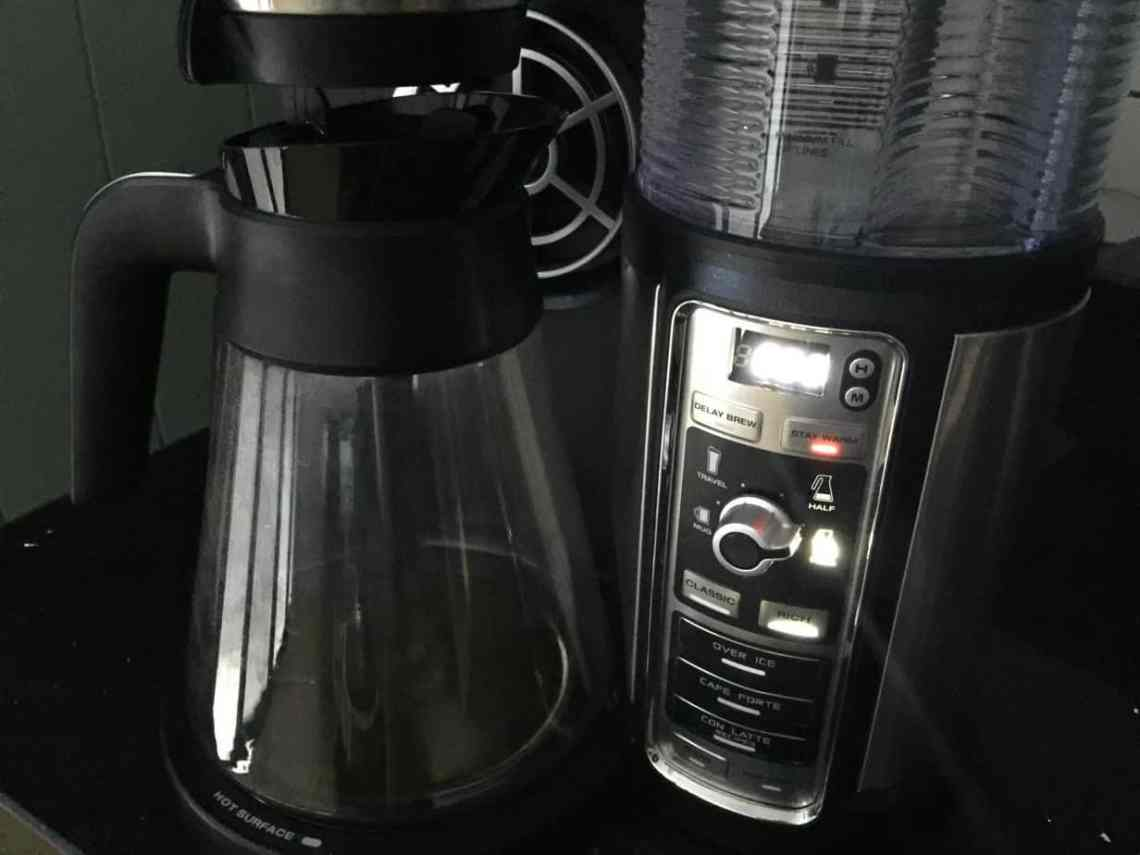 Ninja Coffee Bar, Glass carafe