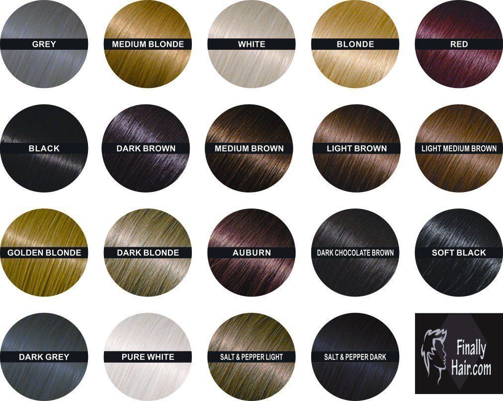 Finally Hair Fiber Color Options  Best Hair Loss