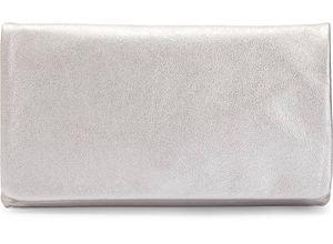 Abro, Metallic-Clutch in weiß, Clutches & Abendtaschen für Damen Gr. 1
