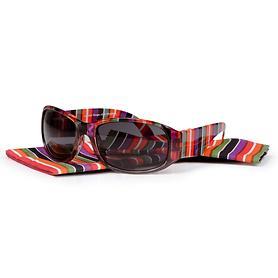 Bifokale Sonnenbrille 'Joy', gestreift, 1,0 dpt