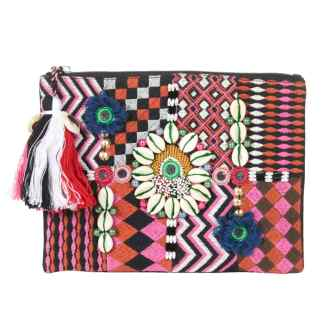 Clutch, SIENNA multicolour