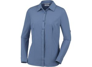 "Columbia Bluse ""Saturday Trail Stretch Longsleeve Shirt Damen"", blau"