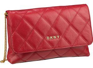 DKNY Umhängetasche Sofia Diamond Stitch Clutch Crossbody Black/Gold