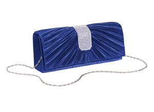 Heine Clutch royalblau