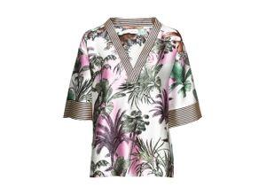 Kimono-Bluse halber Arm in weiß für Damen von bonprix