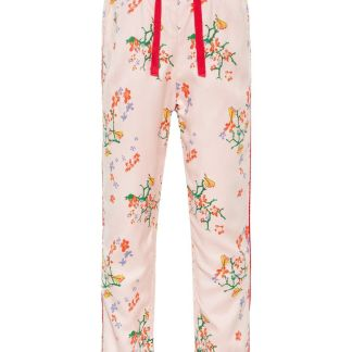 NAME IT Blumenprint Viskose Hose Damen Pink