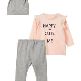 NAME IT Top Und Hose Geschenk-set Damen Pink