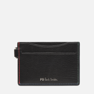 SALE -30 PS Paul Smith - CARDHOLDER STITCH - SALE Portemonnaies & Clutches / schwarz