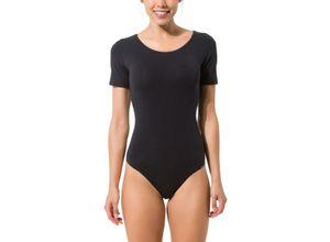 Skiny Body der Body Collection mit kurzen Armen, schwarz