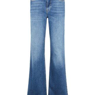 VERO MODA Vmliv High Waist Flared Loose Fit Jeans Damen Blau