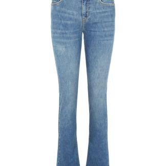 VERO MODA Vmpetra Normal Waist Bootcut-jeans Damen Blau