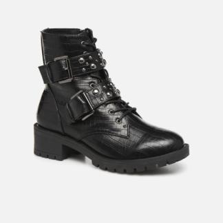 Bianco - BIACLAIRE STUD BELT BOOT 33-50332 - Stiefeletten & Boots für Damen / schwarz