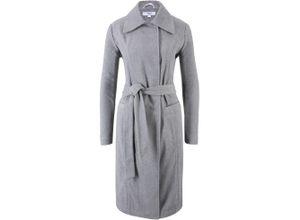 Maite Kelly Mantel mit Wolle langarm in grau für Damen von bonprix