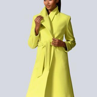 Mantel Alba Moda Limettengrün